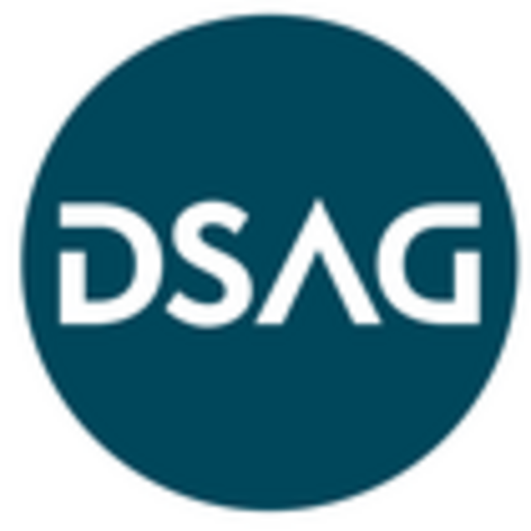 Firmenlogo des Kooperationspartners DSAG