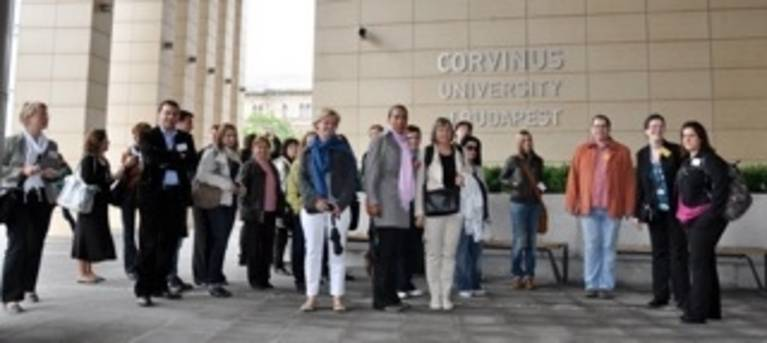 Staff Training at Corvinus University