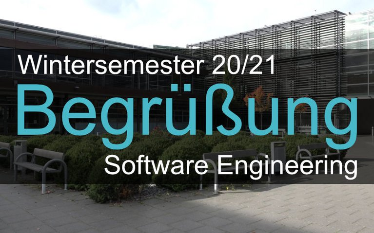 Begrüßungsvideo Software Engineering
